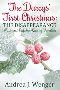Book cover for The Darcys' First Christmas